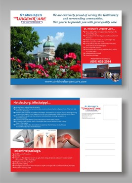St. Michael's Urgentcare  Marketing collateral  Draft # 10 by syukurkurnia
