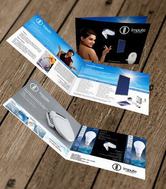 Design brochure for products including - Solar Panels, Solar inverter, Electronic Bidet, LED Bulb Marketing collateral  Draft # 48 by gugunte