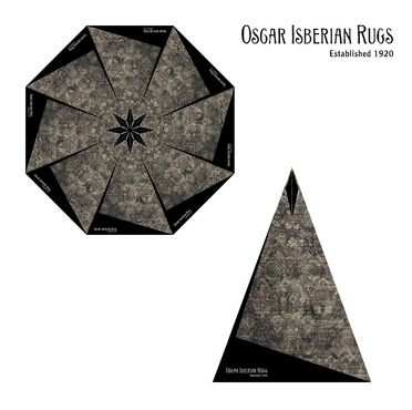 Oscar Isberian Rugs Other  Draft # 25 by ManchevaDesigns