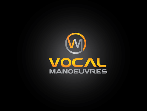 Vocal Manoeuvres (or initials) Logo Winning Design by SimpleDG