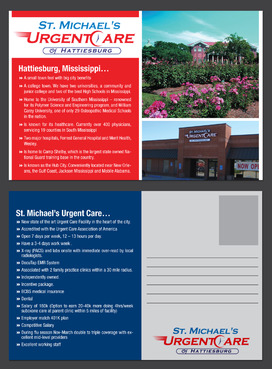 St. Michael's Urgentcare  Marketing collateral  Draft # 22 by destudio