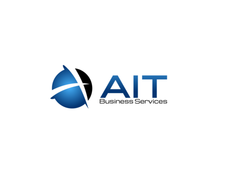 AIT Business Services Logo Winning Design by psstudio