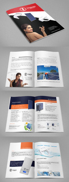 Design brochure for products including - Solar Panels, Solar inverter, Electronic Bidet, LED Bulb Marketing collateral  Draft # 65 by gugunte