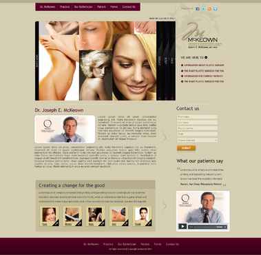 Home Page Web Design  Draft # 13 by qcssoft
