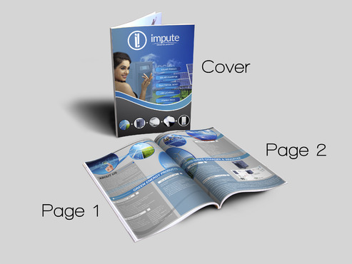 Design brochure for products including - Solar Panels, Solar inverter, Electronic Bidet, LED Bulb Marketing collateral  Draft # 70 by aminzah