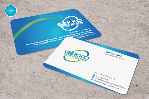 Professional Hard Surface Floor Maintenance • Indoor Air Quality Specialists Business Cards and Stationery  Draft # 236 by aheadpoint