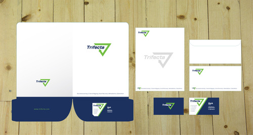 Company Logo Business Cards and Stationery  Draft # 157 by iDesign