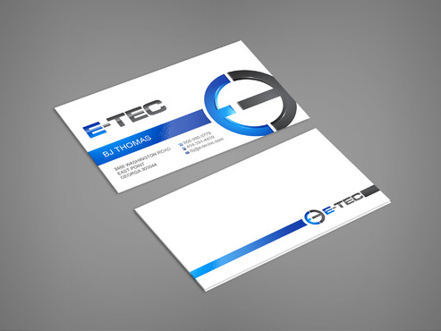 E-TEC Stationery Business Cards and Stationery  Draft # 246 by sevensky