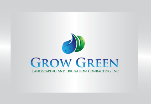 Grow Green Landscaping and Irrigation Contractors Inc A Logo, Monogram, or Icon  Draft # 60 by tomcost