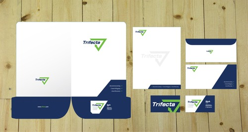 Company Logo Business Cards and Stationery  Draft # 498 by iDesign
