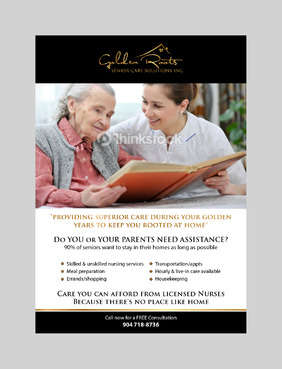 senior citizen home health care Marketing collateral  Draft # 4 by jameelbukhari