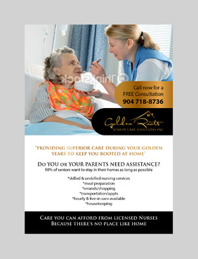 senior citizen home health care Marketing collateral  Draft # 5 by jameelbukhari