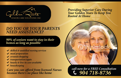senior citizen home health care Marketing collateral  Draft # 15 by Achiver