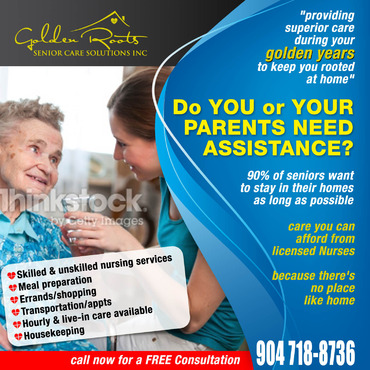 senior citizen home health care Marketing collateral  Draft # 22 by creativeoutline