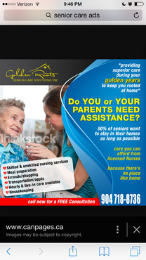 senior citizen home health care Marketing collateral  Draft # 23 by creativeoutline