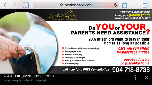 senior citizen home health care Marketing collateral  Draft # 30 by creativeoutline