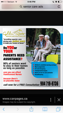 senior citizen home health care Marketing collateral  Draft # 33 by creativeoutline