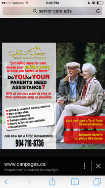 senior citizen home health care Marketing collateral  Draft # 43 by creativeoutline