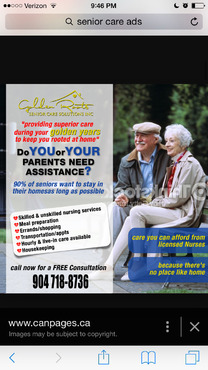 senior citizen home health care Marketing collateral  Draft # 44 by creativeoutline