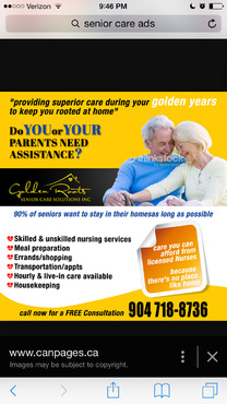 senior citizen home health care Marketing collateral  Draft # 47 by creativeoutline