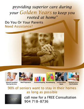 senior citizen home health care Marketing collateral  Draft # 48 by FEGHDD