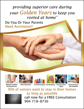senior citizen home health care Marketing collateral  Draft # 49 by FEGHDD