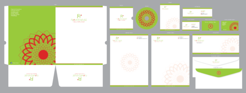 Flower House Business Cards and Stationery  Draft # 54 by ArtworksKingdom