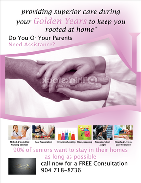 senior citizen home health care Marketing collateral  Draft # 70 by FEGHDD