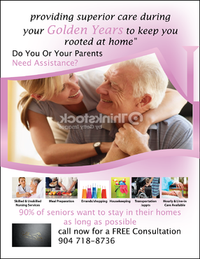 senior citizen home health care Marketing collateral  Draft # 72 by FEGHDD