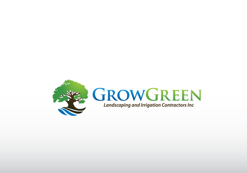 Grow Green Landscaping and Irrigation Contractors Inc A Logo, Monogram, or Icon  Draft # 71 by jaggu