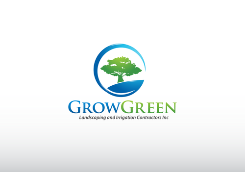 Grow Green Landscaping and Irrigation Contractors Inc A Logo, Monogram, or Icon  Draft # 72 by jaggu