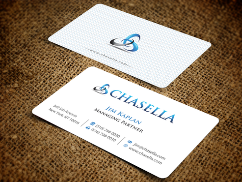 Expedite Business Card For A Private Equity Firm By Chasella
