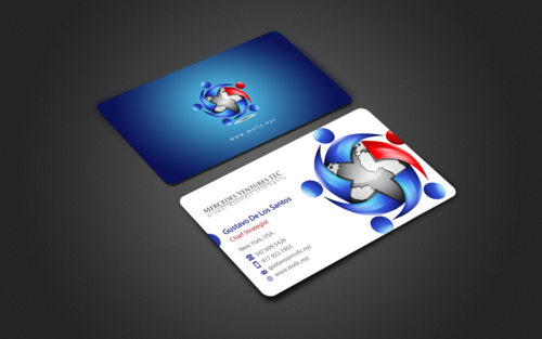 Mercedes Ventures LLC Business Cards and Stationery Winning Design by einsanimation
