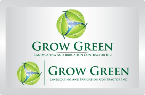 Grow Green Landscaping and Irrigation Contractors Inc A Logo, Monogram, or Icon  Draft # 76 by tomcost