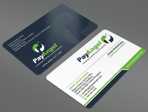 PayAngel (Part of PAYINC Group) Business Cards and Stationery  Draft # 358 by ArtworksKingdom