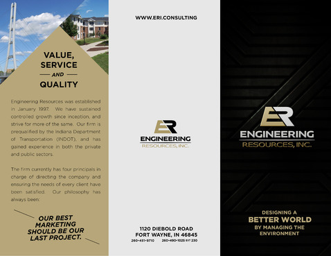 Engineering Resources - Fort Wayne, IN Marketing collateral  Draft # 7 by ricpulanco