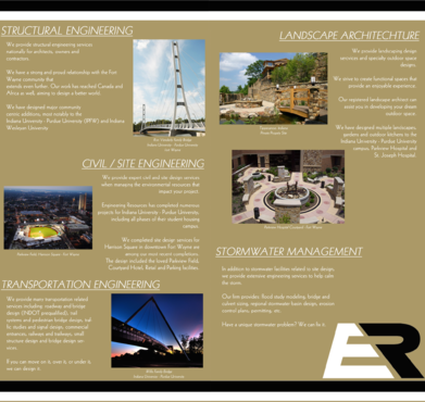 Engineering Resources - Fort Wayne, IN Marketing collateral  Draft # 10 by DannyDezine