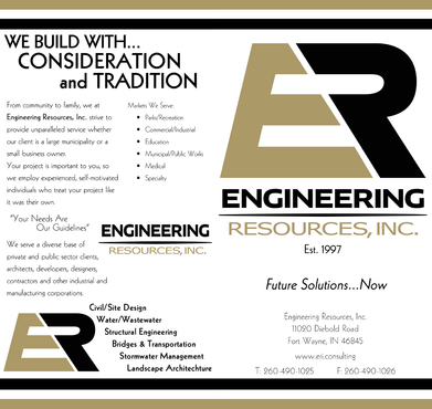 Engineering Resources - Fort Wayne, IN Marketing collateral  Draft # 27 by DannyDezine