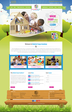 Kaleidoscope Academy Complete Web Design Solution  Draft # 61 by jogdesigner