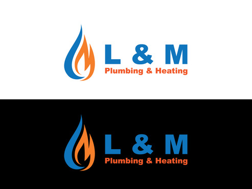 L & M Plumbing & Heating A Logo, Monogram, or Icon  Draft # 78 by dimzsa
