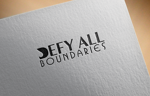 Defy All BOUNDARIES A Logo, Monogram, or Icon  Draft # 442 by sp0605