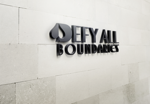 Defy All BOUNDARIES A Logo, Monogram, or Icon  Draft # 446 by sp0605