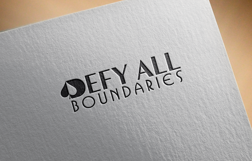 Defy All BOUNDARIES A Logo, Monogram, or Icon  Draft # 447 by sp0605