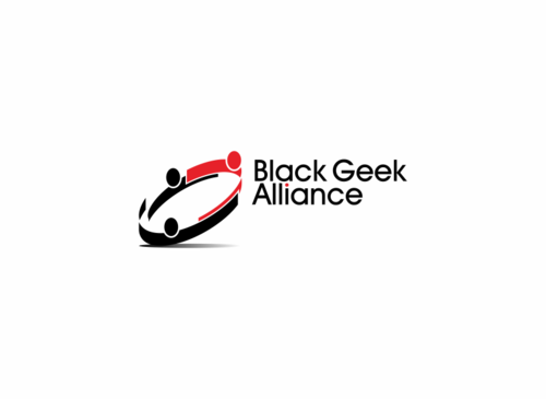 Black Geek Alliance A Logo, Monogram, or Icon  Draft # 91 by toezSew