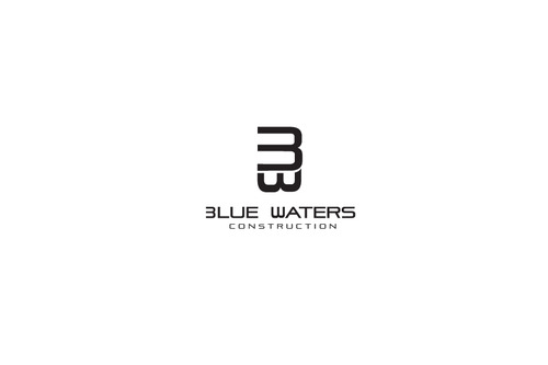Blue Waters Construction A Logo, Monogram, or Icon  Draft # 78 by DEATHCORE