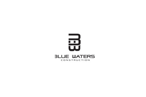 Blue Waters Construction A Logo, Monogram, or Icon  Draft # 80 by DEATHCORE