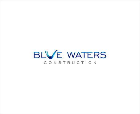 Blue Waters Construction A Logo, Monogram, or Icon  Draft # 85 by buzzlightyear