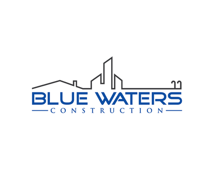 Blue Waters Construction A Logo, Monogram, or Icon  Draft # 107 by nesgraphix