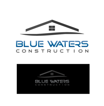 Blue Waters Construction A Logo, Monogram, or Icon  Draft # 156 by AMHeart1