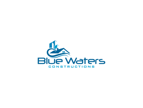 Blue Waters Construction A Logo, Monogram, or Icon  Draft # 167 by graphika